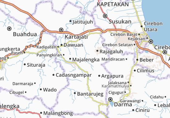 Sukahaji Map