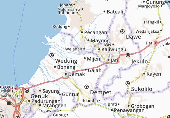 Mapas-Planos Mijen
