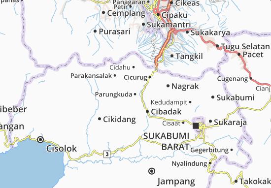 Parungkuda Map