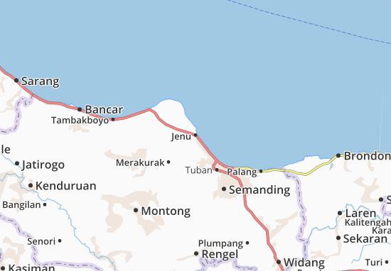 Jenu Map