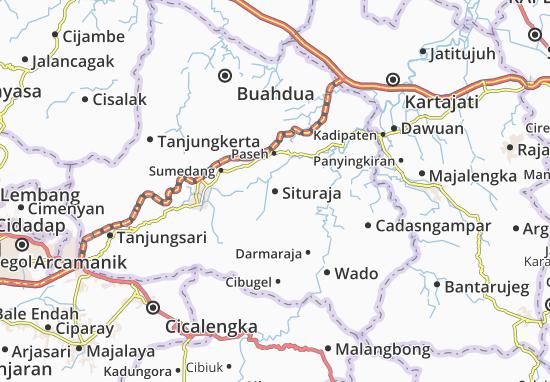 Situraja Map