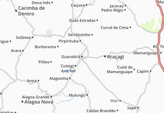 Carte-Plan Guarabira