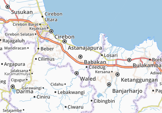 Babakan Map