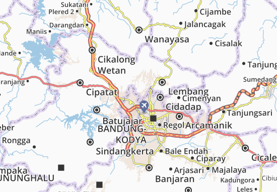 Citeureup Map
