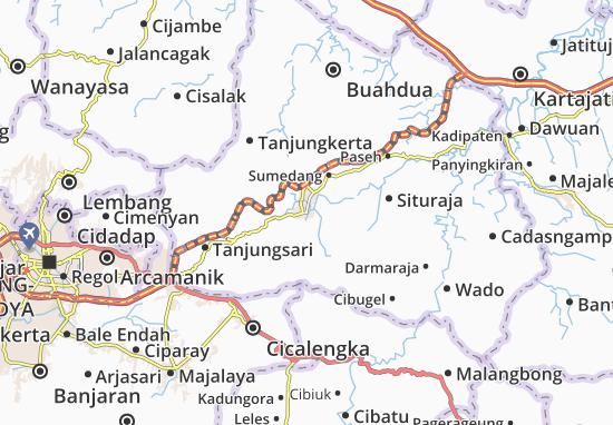Sumedang Selatan Map