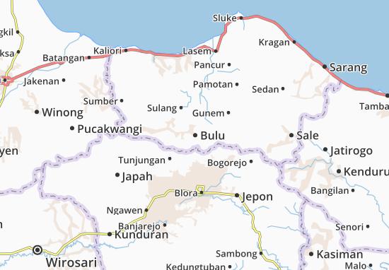 Bulu Map