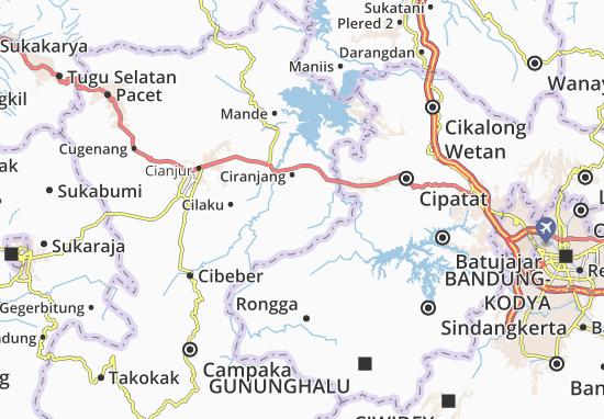 Bojongpicung Map