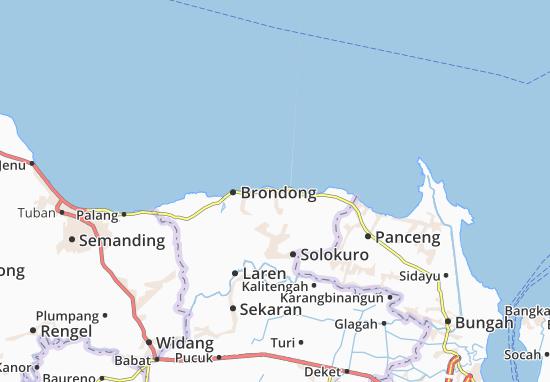 Paciran Map