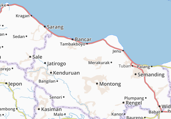 Kerek Map