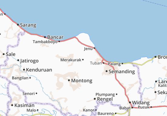 Merakurak Map