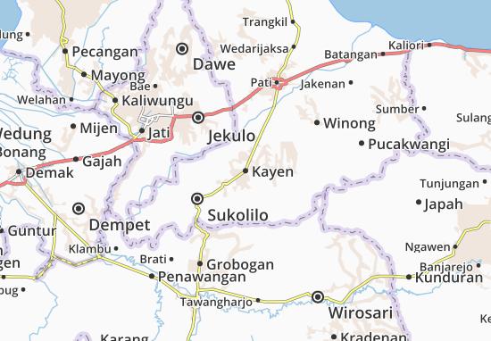 Kayen Map