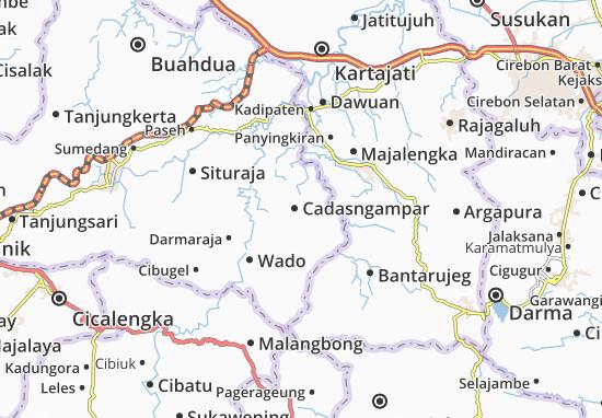 Cadasngampar Map