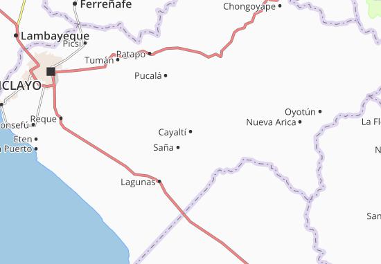 Mappe-Piantine Cayaltí