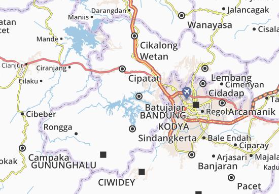 Mapa Batujajar