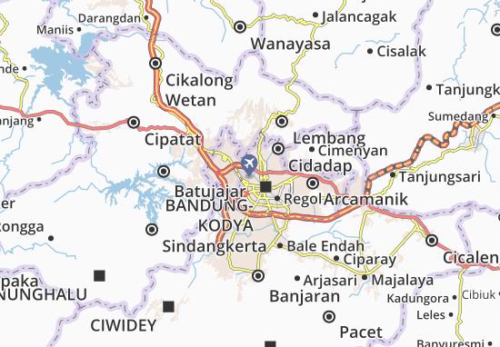 Cicendo Map
