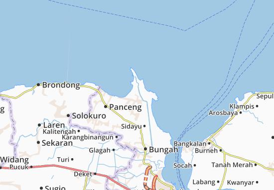 Ujung Pangkah Map