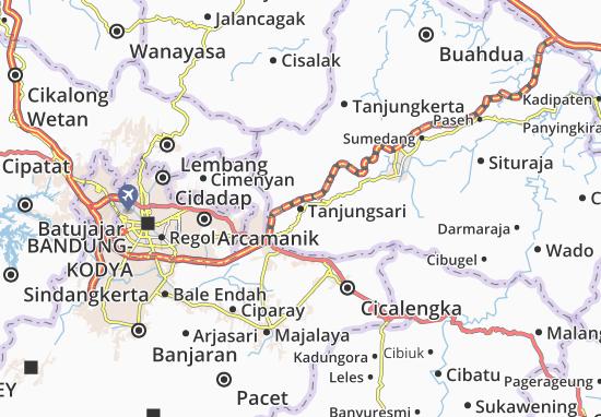 Tanjungsari Map