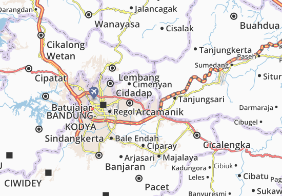 Ujungberung Map