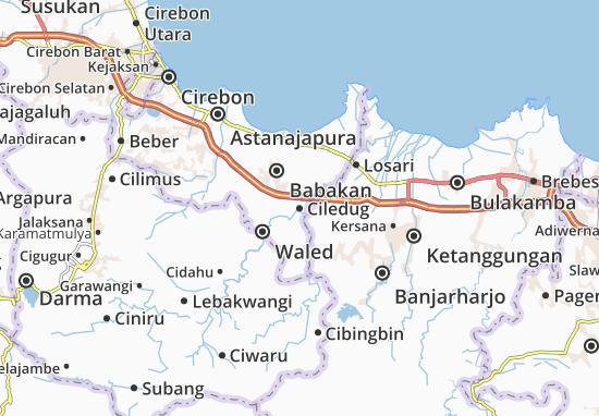 Ciledug Map