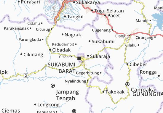Mapa Sukabumi Timur