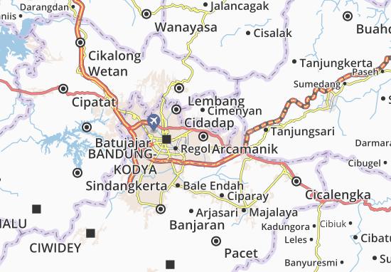Cicadas Map