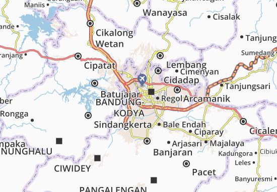 Mapa Bandung Kulon