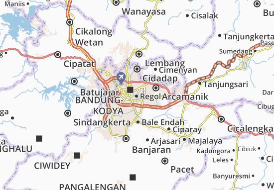 Lengkong Map