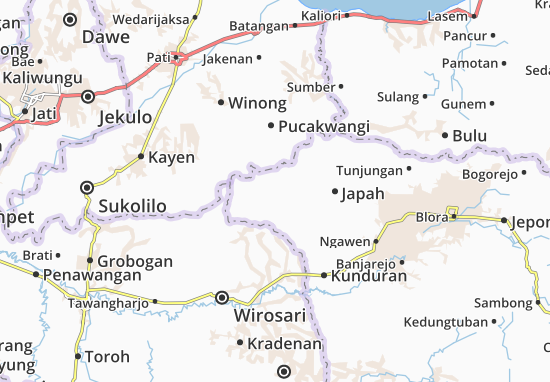 Todanan Map