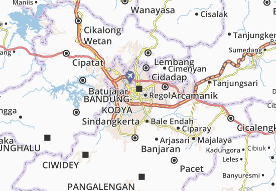 Mapa Bandung-Kodya