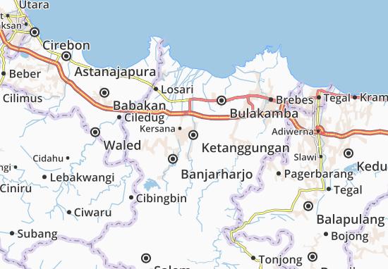 Ketanggungan Map