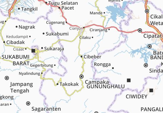Cibeber Map