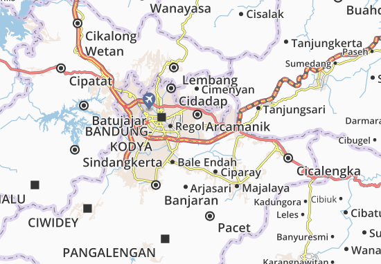 Margacinta Map