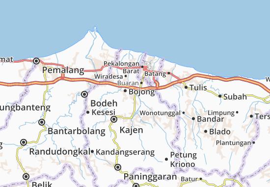 Kedungwuni Map
