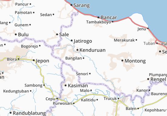 Bangilan Map