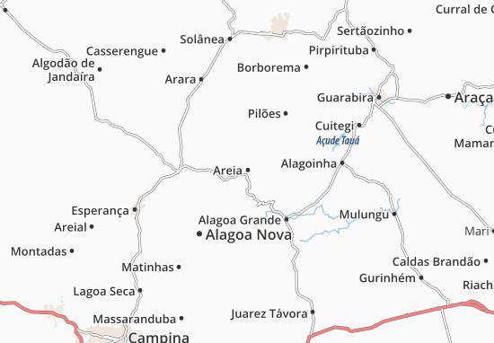 Areia Map