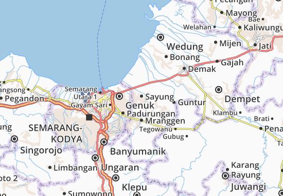 Mapas-Planos Sayung