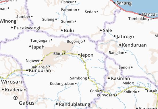 Jepon Map