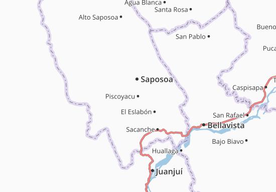 Mappe-Piantine Piscoyacu