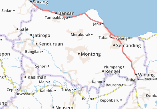 Montong Map