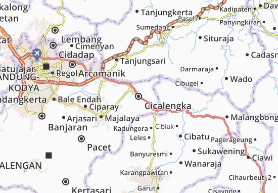 Cicalengka Map