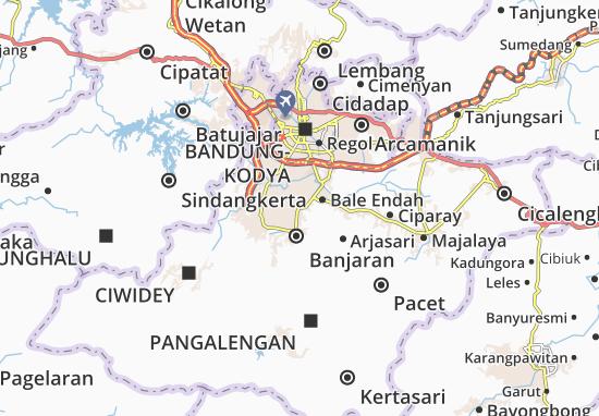 Mapa Plano Pameungpeuk