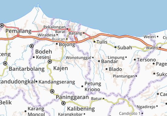 Talun Map