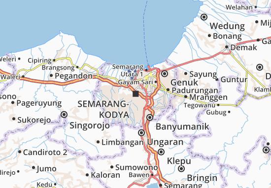 Mappe-Piantine Semarang-Kodya