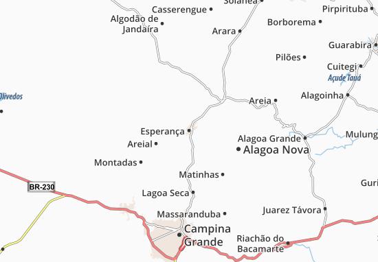 Esperança Map