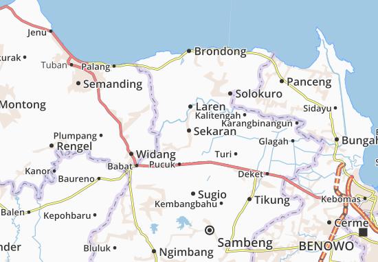 Mappe-Piantine Sekaran