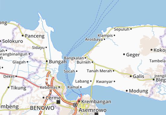 Kemayoran Map