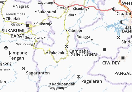 Campaka Map