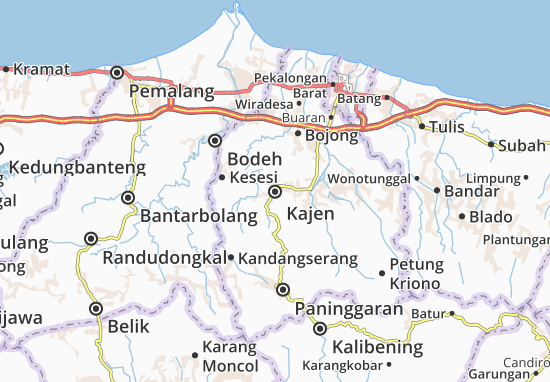 Kajen Map