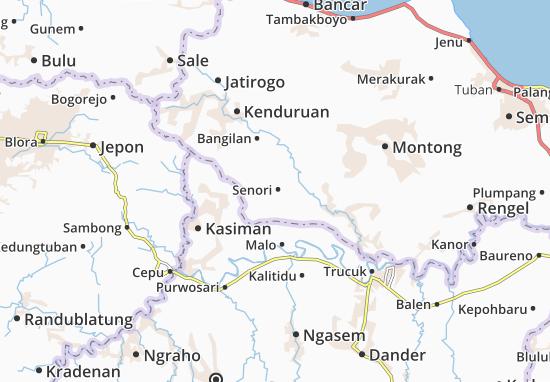 Senori Map