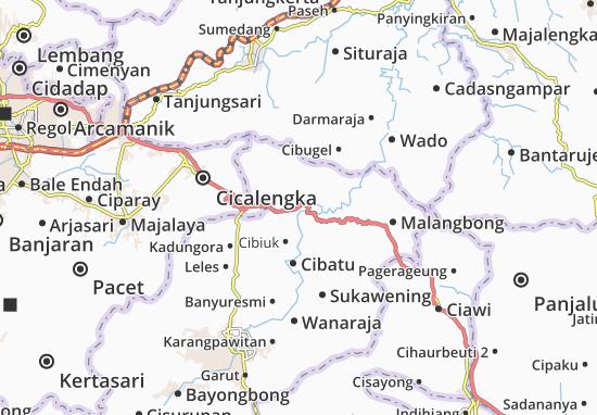 Blubur Limbangan Map